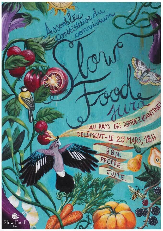 Caroline Schindelholz - Slow Food